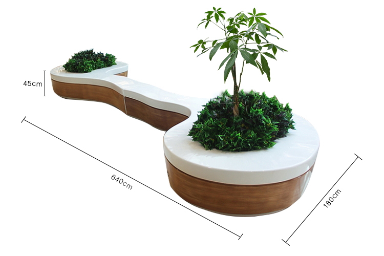 Tree Pot Seat Style No.15 - Dumbbell